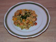 Potrawka ryżowa kurczakiem