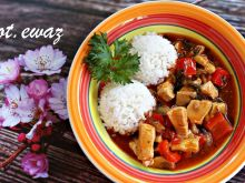 Potrawka w tajskim sosie