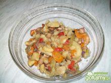 Potrawka warzywna z boczkiem