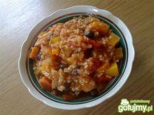 Potrawka z  dynią i ryżem
