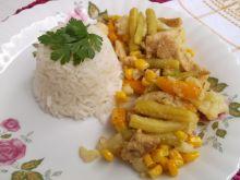 Potrawka z fileta z kurczaka i warzyw
