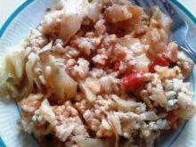 Potrawka z kapustą i pomidorami