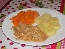 Potrawka z królika z kluskami