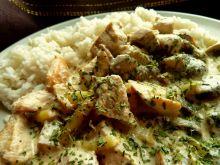 Potrawka z kurczaka i fasolki szparagowej