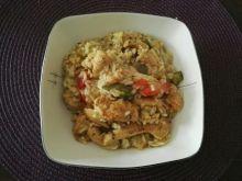 Potrawka z kurczaka po azjatycku