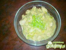Potrawka z kurczaka w zupie cebulowej