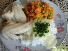 Potrawka z kurczaka z marchewką