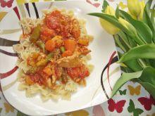 Potrawka z kurczaka ze szparagami