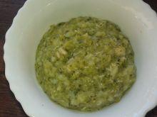 Potrawka z kurczakiem i brokułami dla malucha