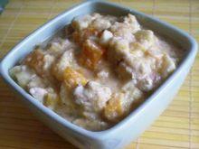 Potrawka z kurczakiem, jabłkiem i dynią