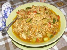 Potrawka z kury rosołowej