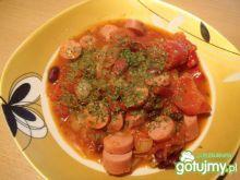 Potrawka z parówek i warzyw