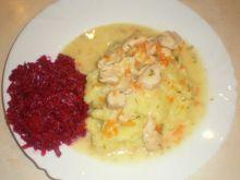potrawka z piersi kurczaka z warzywami