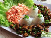 Potrawka z ryżem.