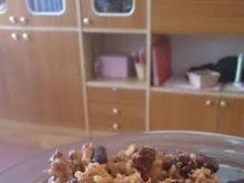 Potrawka z ryżem i czerwoną fasolą