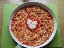 Potrawka z ryżem i krewetkami