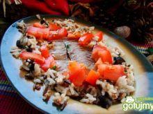 Potrawka z ryżu i dorsza