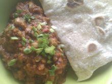 Potrawka z soczewicy a'la sambar