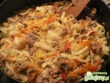 Potrawka z warzyw i mięsa mielonego