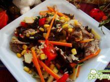 Potrawka z woka z kaczką i bambusem