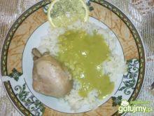 Potrawka z zielonym sosem