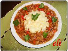 Potrawka z żołądków drobiowych Eli