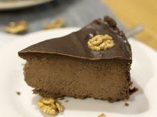 Potrójnie czekoladwy sernik