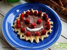 Poziomkowy deser dla dzieci
