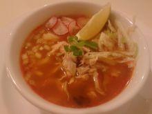 Pozole czyli zupa meksykańska z białej kukurydzy