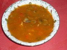 Pożywna zupa z czosnkiem