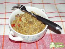 Pożywny kaszaczek z warzywami