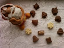 Pralinki karmelowo kukułkowe