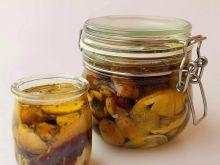 Prawdziwki marynowane w oliwie