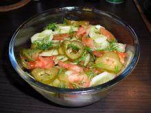 Prawie wiosenna salatka.