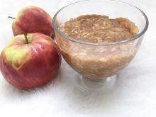 Prażone jabłka migdałowe z cynamonem