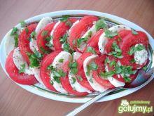 Prosta przystawka pomidorowa