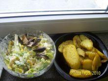 prosta sałatka do potraw z grilla