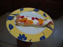 Prosta tarta z mascarpone i owocami