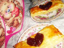 Proste ciasteczka francuskie z serduszkiem