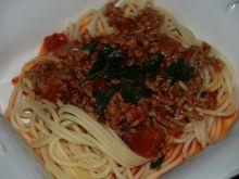 Proste spaghetti