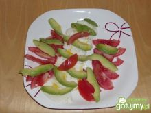 Prostra salatka z awokado