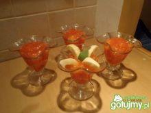 Prosty deser jabłkowo-truskawkowy