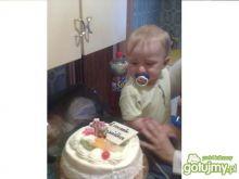 Prosty torcik urodzinowy : )