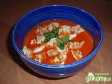 Prowansalska zupa pomidorowa z waflami