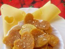 Przekąska naleśnikowo-serowa z mąki kukurydzianej