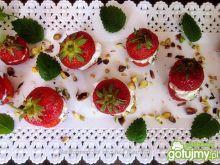Przekąska truskawkowa na ostro