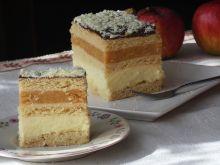 Przekładaniec z jabłkami i serem