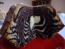 Przepyszna babka zebra