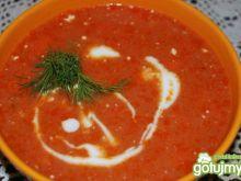Przepyszna zupa  pomidorowa z ryżem