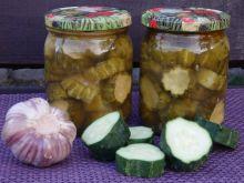 Przetwory - ogórki z chili